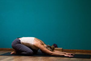 Balasana, Child Pose, Yoga, Yoga Poses, easy yoga poses. Yoga for beginners