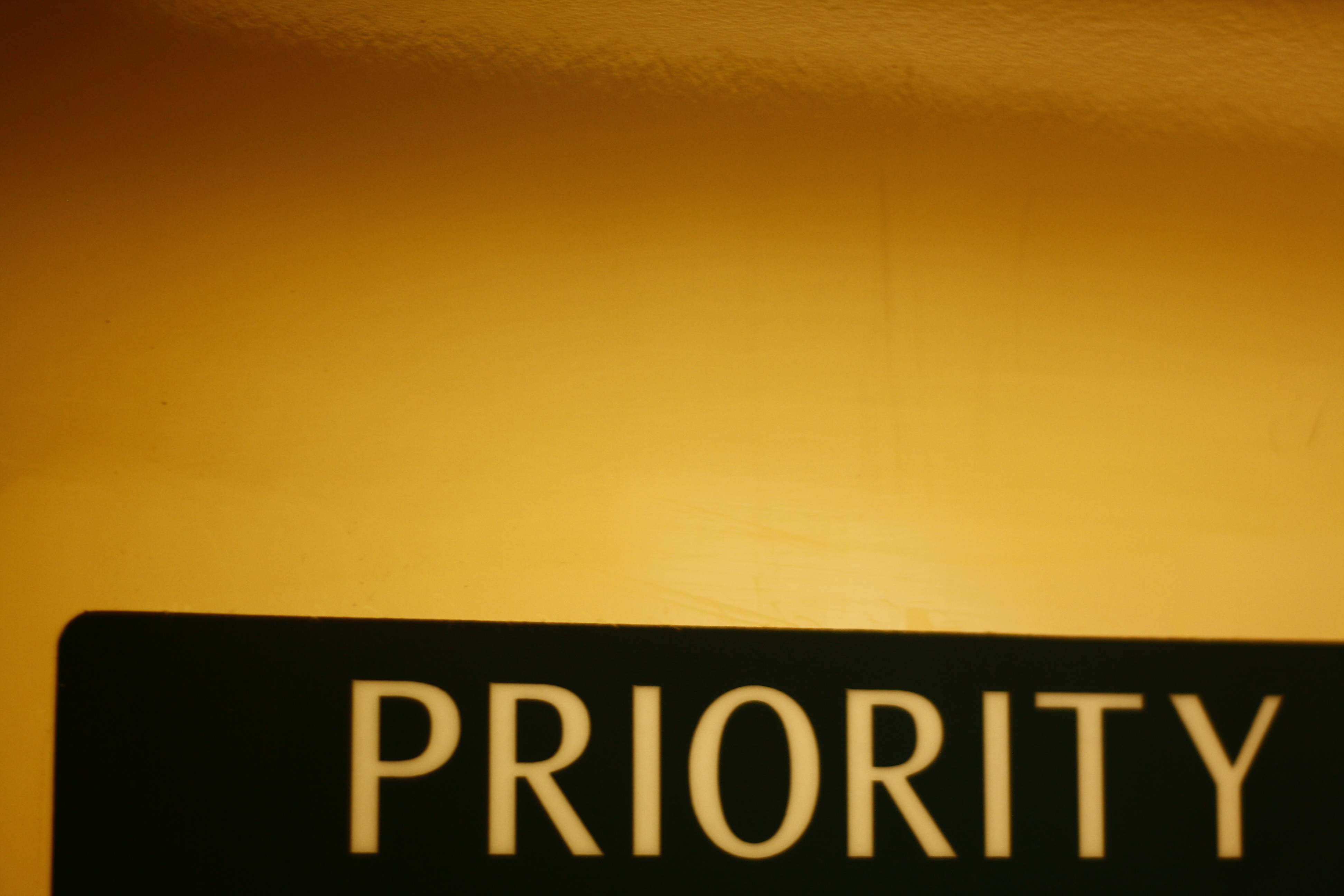 Decide on Priority